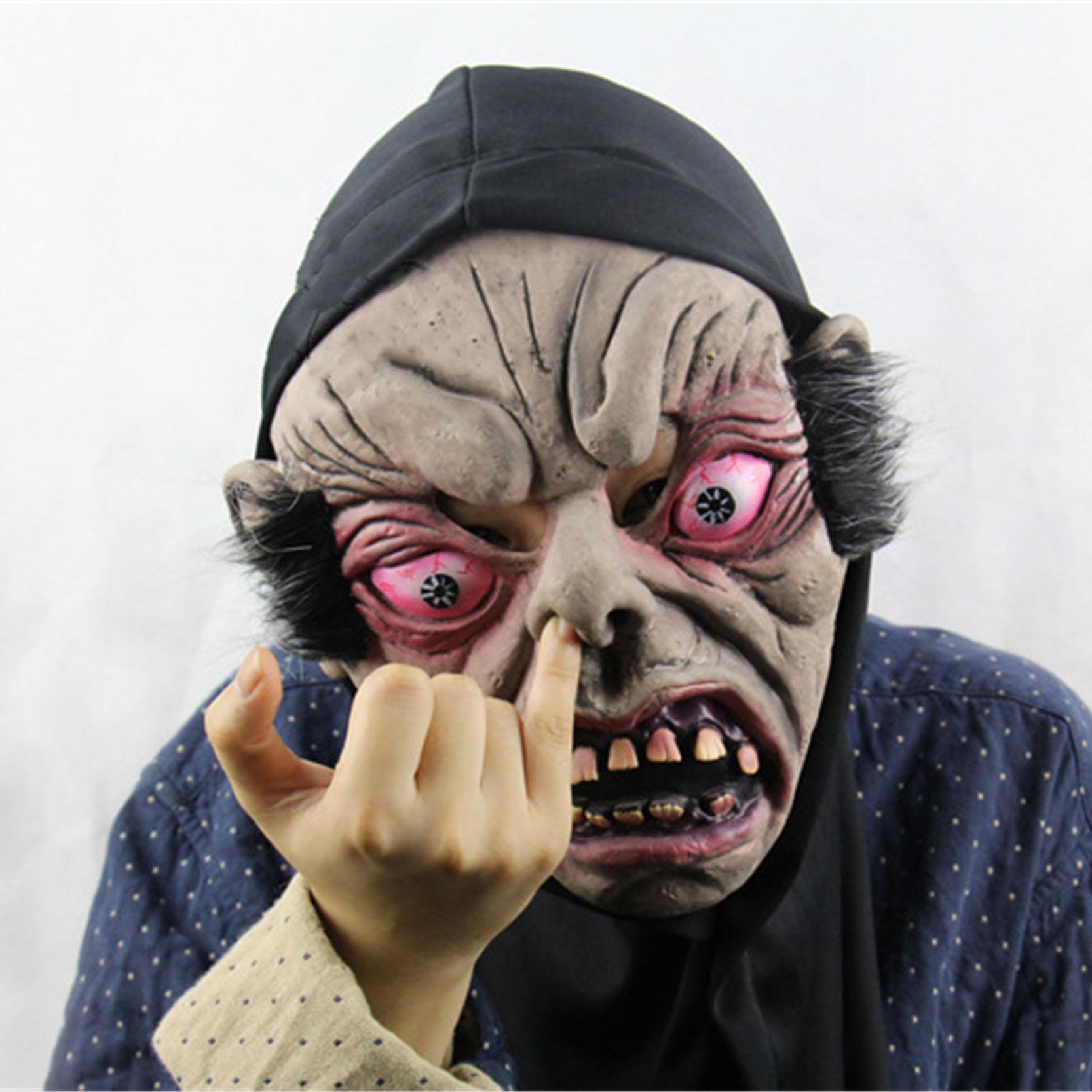 Shipping & Wholesale Fun Scary Mask Clown Latex Masks Short Hair Devil Masks ...