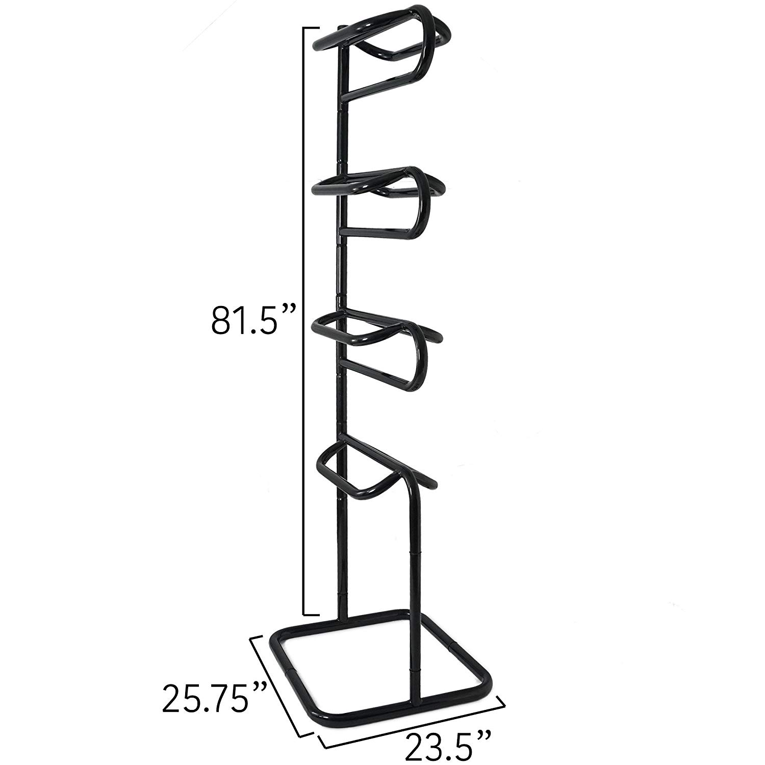4 Tier  Horse Saddle Rack Display Holder