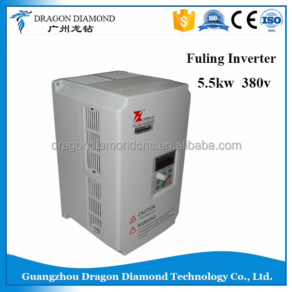 cnc router spare parts 380V power inverter / FULING 5.5 kw inverter DZB300B0055L4A