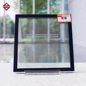 BUILDING FACADE DECORATION DOUBLE TRIPLE GLAZED TEMPERED SAFETY INSULATED  GLASS UNITS PRICE