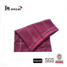 2017 fashionable women's large check berry gauze scarf, stole shawl