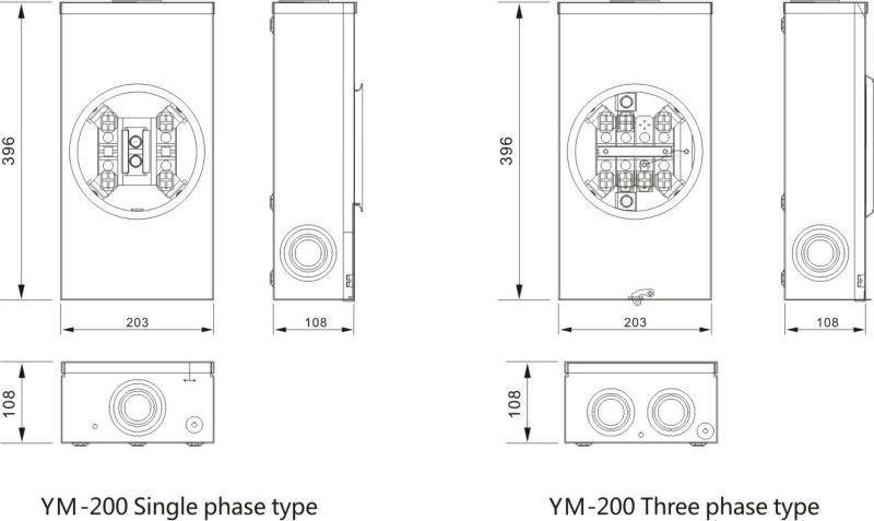 8 Jaw Meter Socket Wiring Diagram Wire Diagram – Meter Base Wiring Diagram