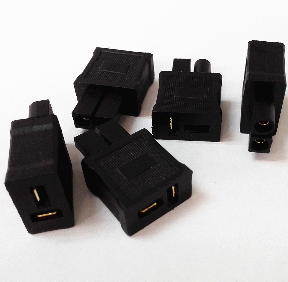 No Wires Connector Mini-Tamiya Male to Female T-Plug Adapter USA! Deans Style