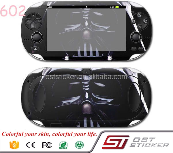 New arrival Games Console Skin Cover For Sony Playstation PS vita 1000 Vinyl Sticker