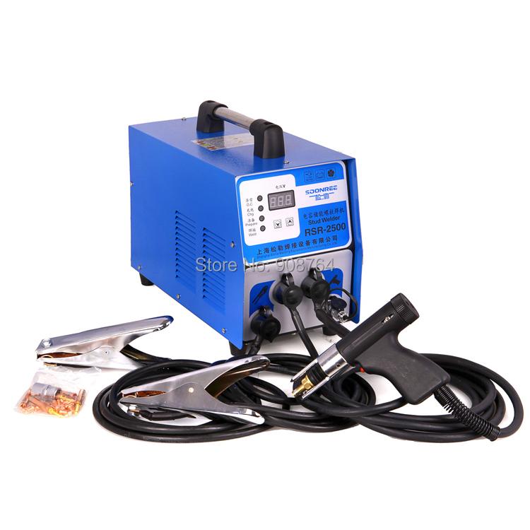 Stud Welder Aluminum Rsr 2500 Capacitor Discharge Stud