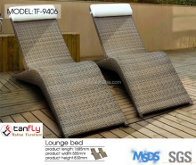 Ergonomic contoured design deluxe lounge sofa chair with max comfort.