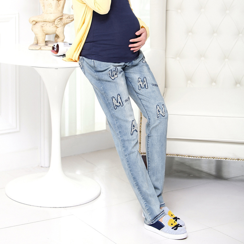 de88be41fbf26 Buy 2015 comfortable New Maternity clothes Big yards Pregnant women pants  Pregnant Abdominal Jean trousers Jeans for pregnant women in Cheap Price on  ...