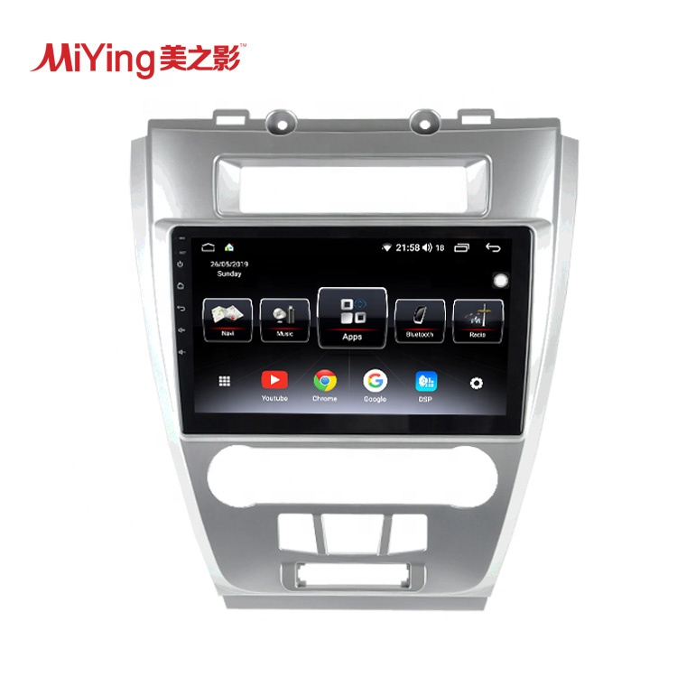 Meizhiying 10.1 ''Android 8.1 Araba GPS Navigasyon Video Radyo DVD Mp3 Mp4 Oynatıcı Optik Çıkış ile Ford Fusion için 2009-2012