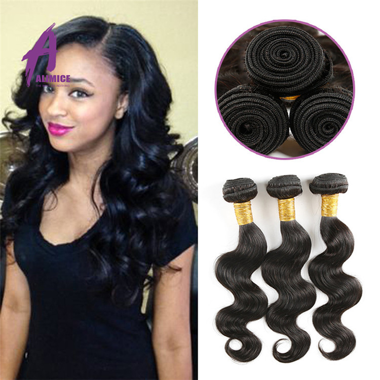 22 Inch Malaysian Human Hair Weave Extension100 Percent Unprocessed
