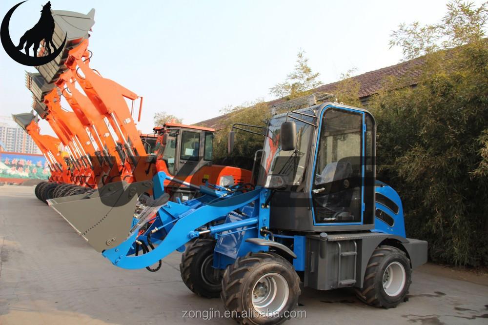 Wolf WL80 Hot sale garden machine 4WD WOLF front end loader ZL08 for sale