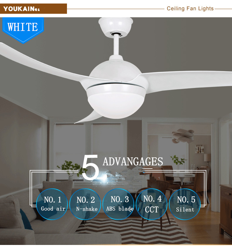Home plastic blade cheap oem light ceiling fan with light and remote