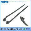 Brand New Factory Supply Nylon 66/UL 94 V2 Zip Tie for Car with Fir-tree Push Mount Design