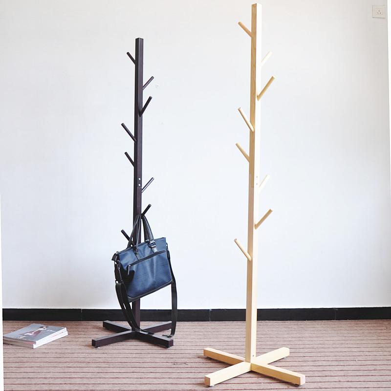 Venta caliente de bricolaje de madera perchero de pie for Percheros para colgar bolsas