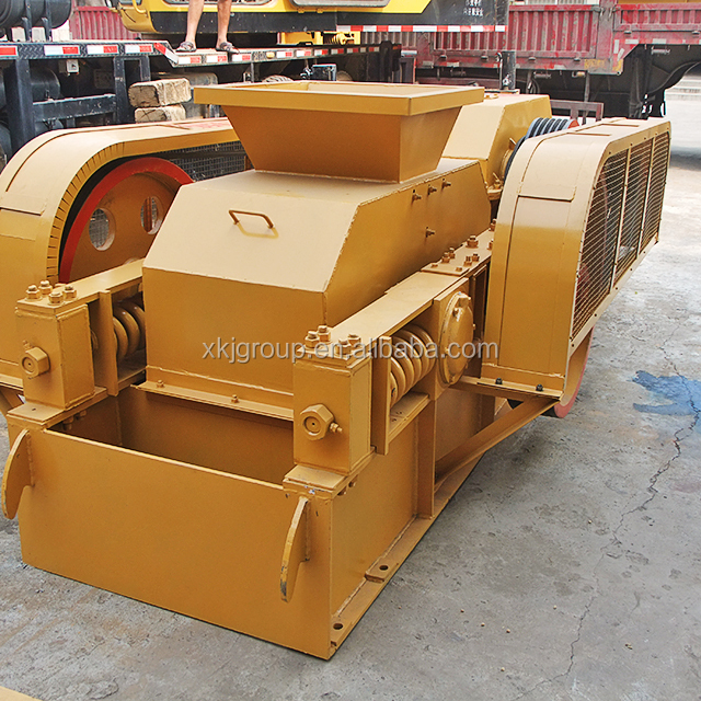 High quality mineral stone roller two stage roller crusher machine for sale