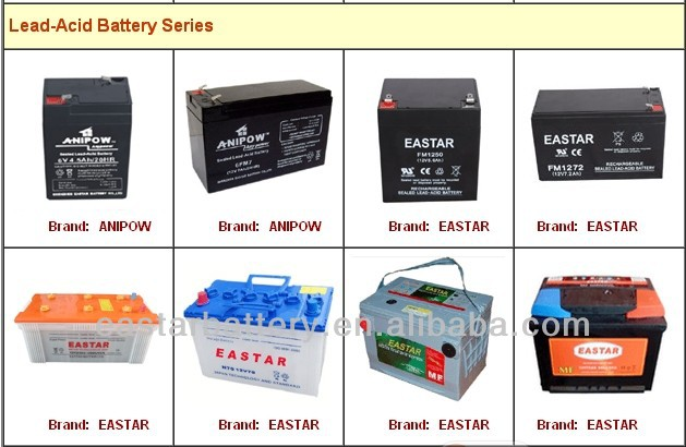 Rechargeable Lead Acid Battery 6V 3.2AH Battery for Sales