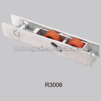 aluminium sliding windows roller with spring and pin