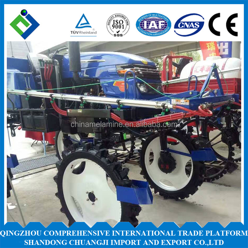 52hp tractor agricultural machinery self propelled boom sprayer made in china