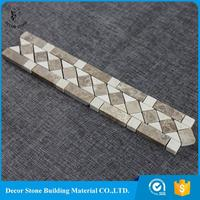 hot sale & high quality marble mosaic border manufacturer