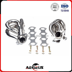 stainless steel long tube racing exhaust manifold for Ford 97-03 F-150/F250 4.6L V8
