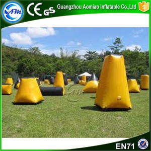 Funny arctic bunker inflatable snow fort inflatable x bunker x x psp paintball bunker for sale