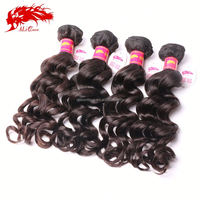 wholesale china brazilian human loose wave micro bead hair extensions