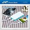 2 USB Mobile power bank supply 6000mAh for Smart phone and iPad.