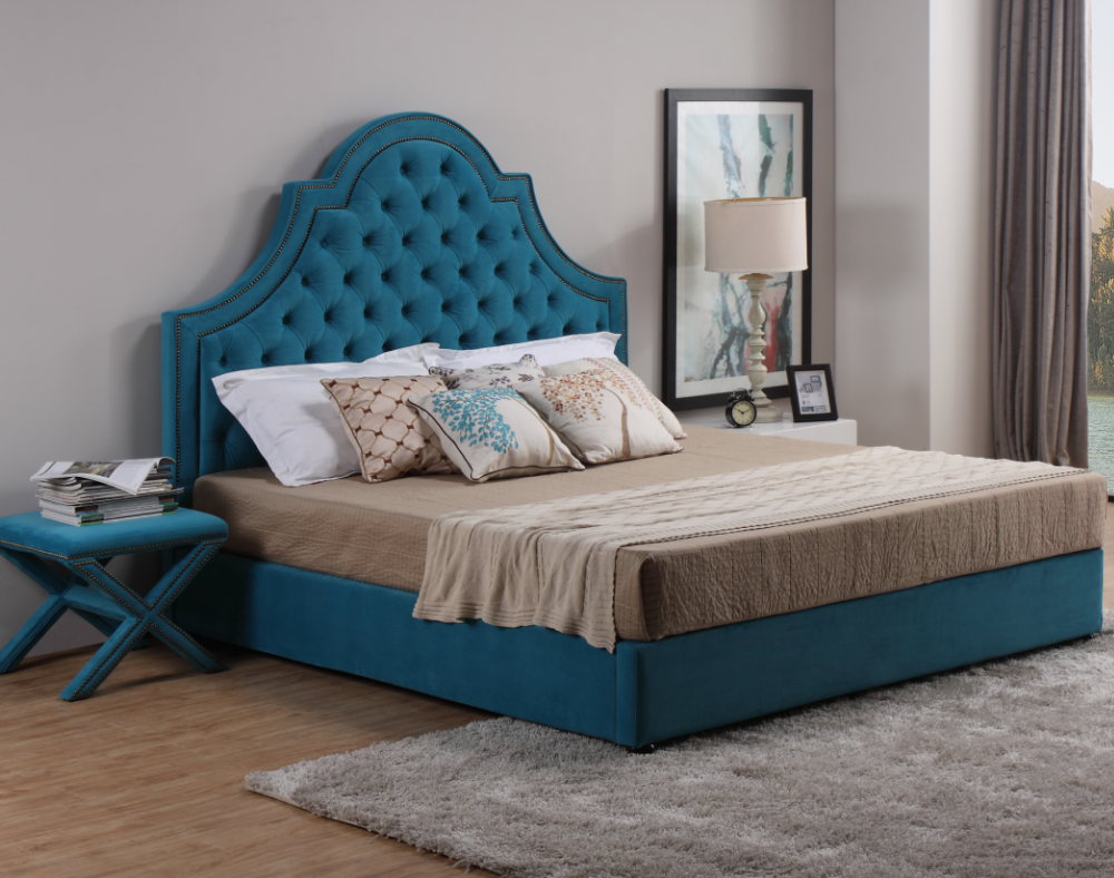 Contemporary youth beds design middle east style bedroom furniture