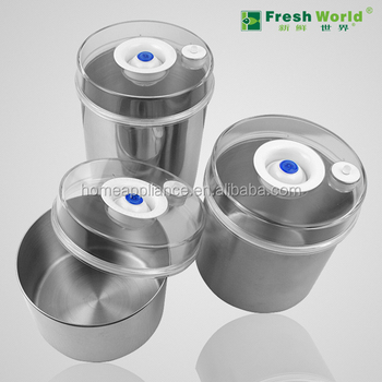 Fresh World Can801stainless Steel Vacuum Container For
