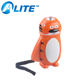 ultra bright 0.5W led dynamo hand press torch tiger head flashlight for promotion