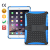 2 in 1 Shockproof heavy duty phone case for ipad air case/TPU+PC hybrid kickstand case cover for ipad air 2