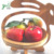 Wholesale rabbit shape folding & Collapsible wooden bamboo fruit basket