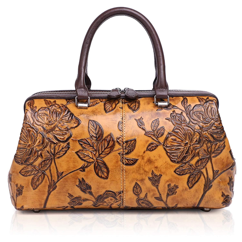 9f2a97a640d8 Get Quotations · APHISON Womens Handbags Ladies Purses Design Embossing  Satchel Shoulder Bags Tote Bag 83300
