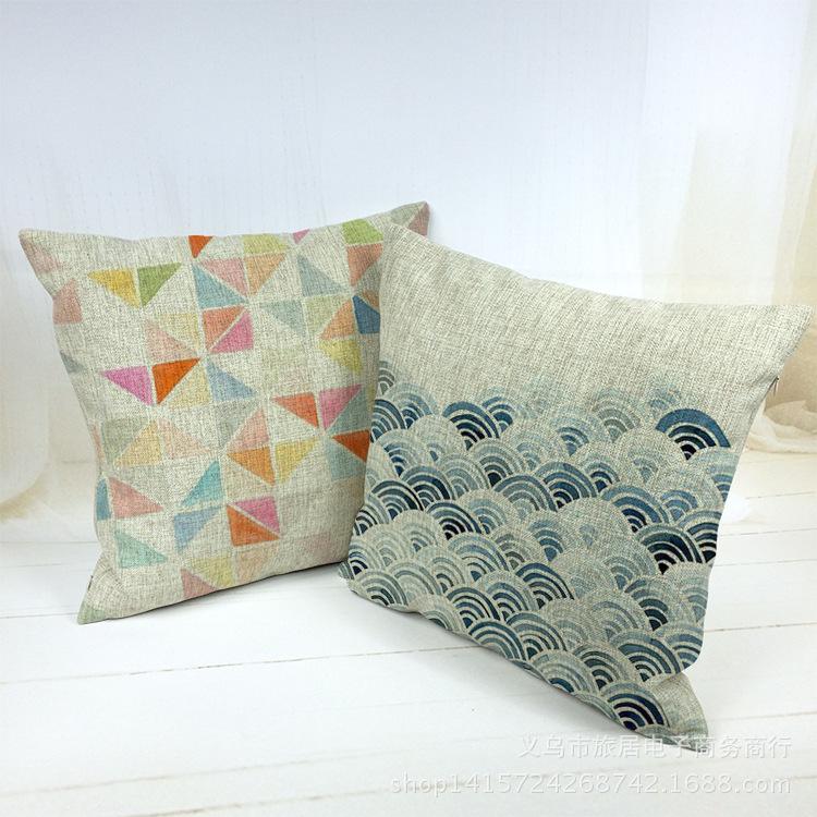 45*45cm Europe Home Decor Sofa Cushion Vintage Throw Pillow 18