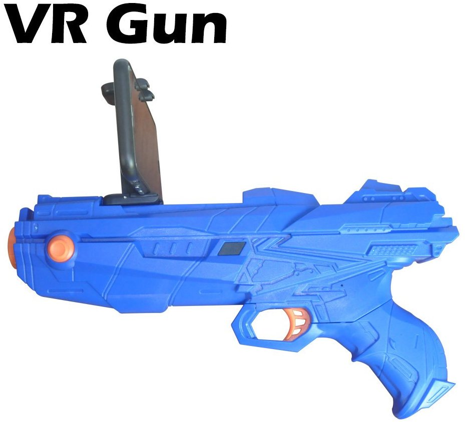 BSTCAM AR Game Toy Gun Rocker Control Bluetooth Connect,Portable Virtual Gaming Gun for Android,iOS Phone 360° Augmented Reality AR Bluetooth Game Controller