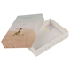 hot sale rectangle solid box greeting card packaging