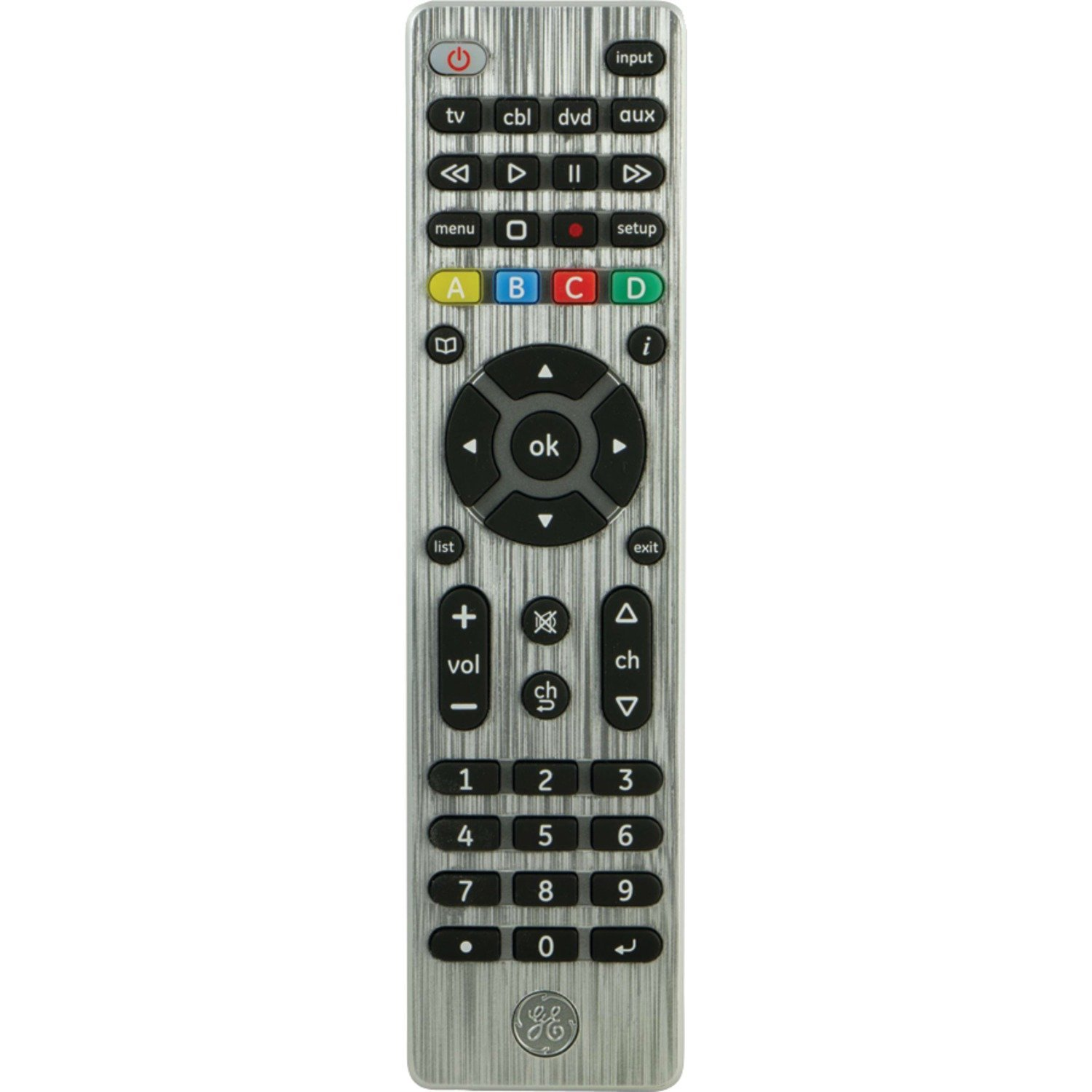 Get Quotations · GE 11695 4-Device Universal Remote