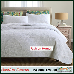 Solid fabric stonewashed quilt in promotion and small qty accept