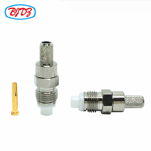 RF terminal Female fme connector iso crimp rf coaxial connector for cable rg58