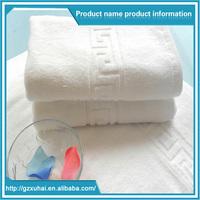 Good Quality Custom Soft Plain White100% Cotton Hotel hand/face Jacquard towels for bathroom