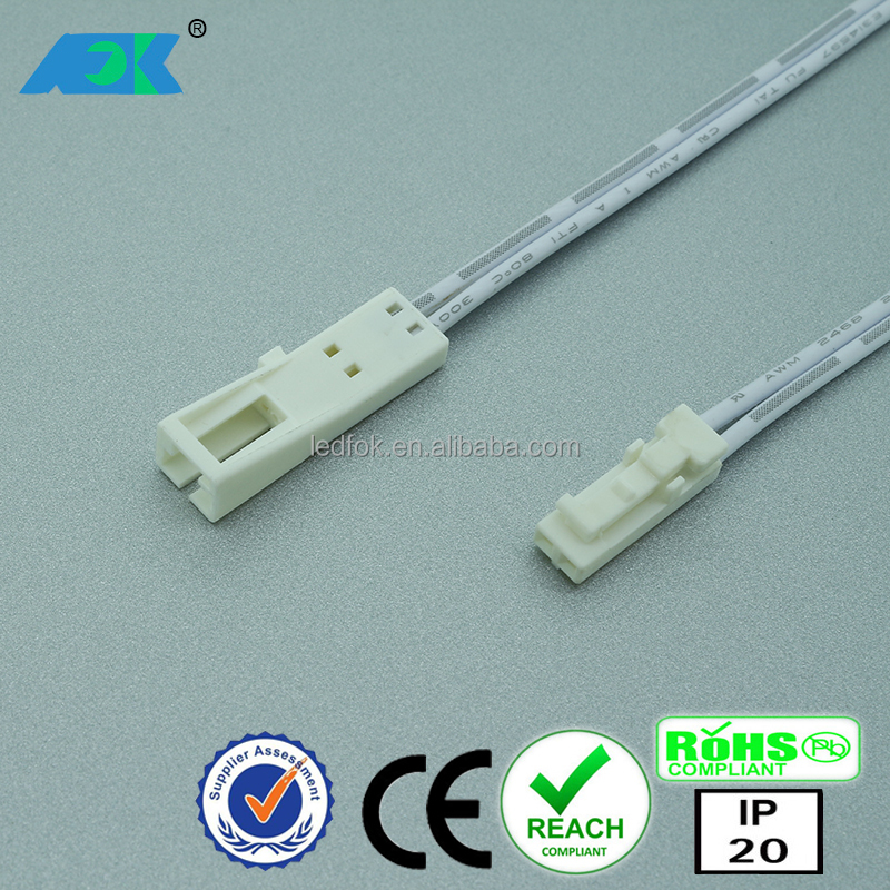 Led Downlight Dc24v Mini 2 Pin Dupont Female Socket Wiring Connector ...