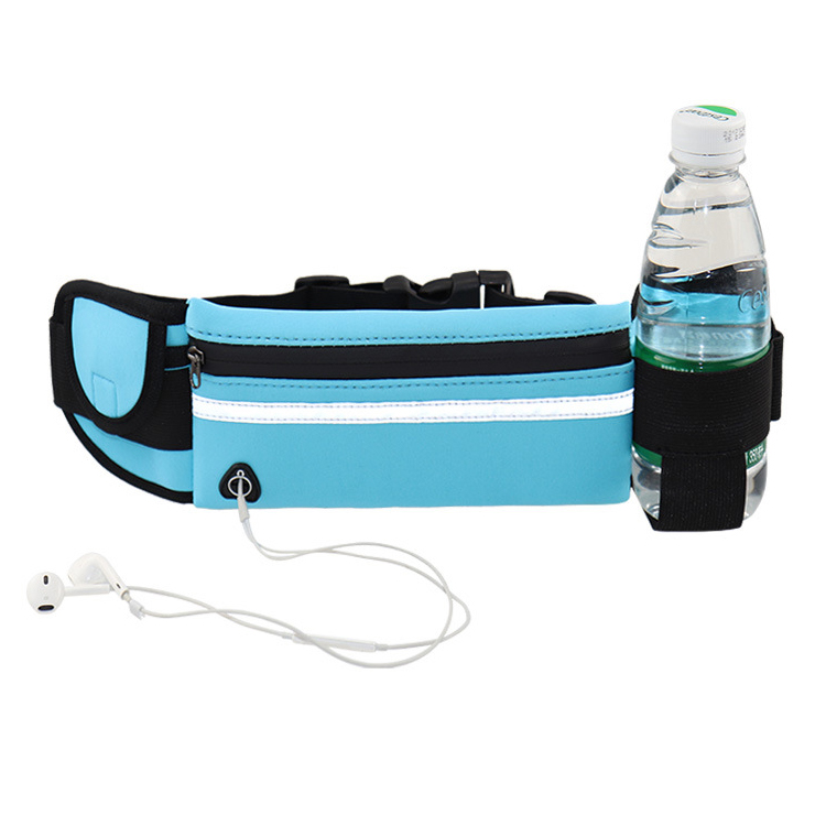 Wholesale Custom Multifunction Outdoor Running Fanny Pack Neoprene Waterproof Sports Waist Belt Bag