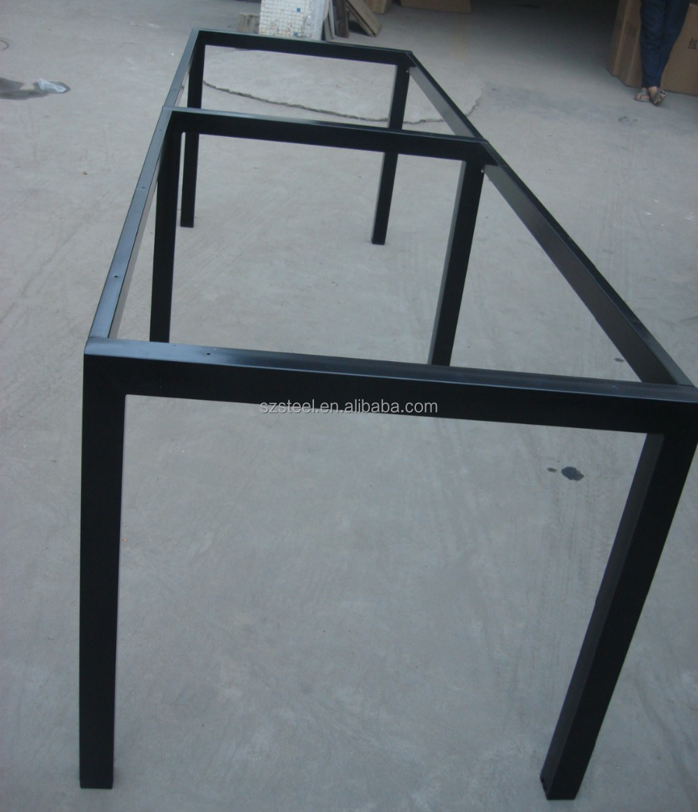 Office Table FrameSquare Tube Table FrameGalvanized Steel Table