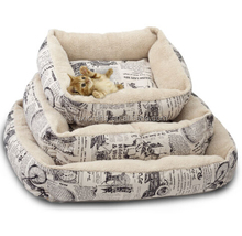 OxGord Fashion Pet Bed Cushion Dog Cat Warm Mat Soft Pad Nest For Crate House