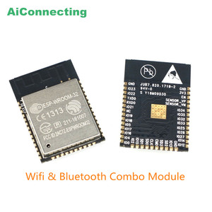 ESP WROOM 32 Dual Core ESP32 WIFI BT BLE MCU wireless tiny Wlan WiFi module for IOT applications