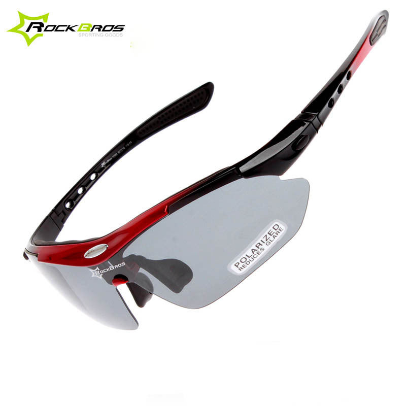 6afd7112d36 Rockbros Polarized Cycling Glasses Sports Glasses Sunglasses Goggles ...