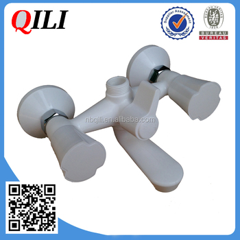 Best Quality Bathtub Mixer,Plastic Bath Faucet,Dual Handle Mixer ...