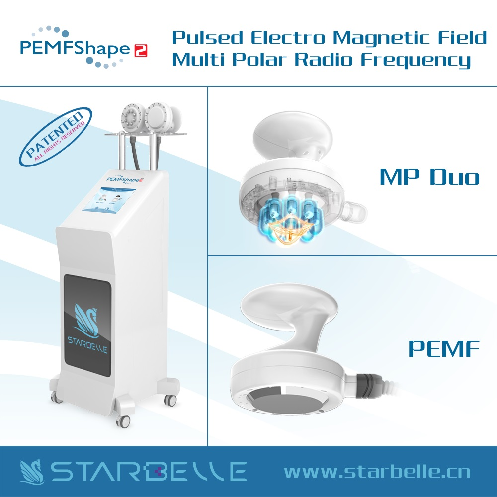 PEMF Pulsed Electromagnetic Therapy Devices With Multi Polar RF For Body Slimmer