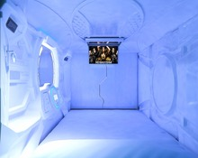 capsule bed room furniture divan bed design nap pod capsule hotel resting bed