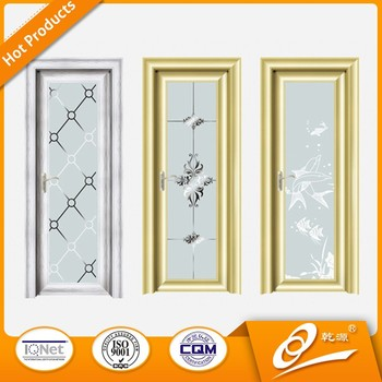 Cheap Aluminum Frosted Glass Interior Bathroom Door Buy Aluminum Bathroom Door Product On
