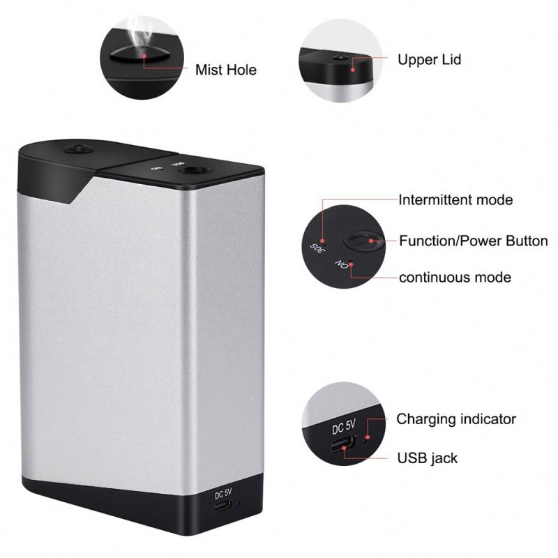 Metal Material PET Bottle Scent Oil Diffuser,Essential Machine,Perfume System For Supermarket